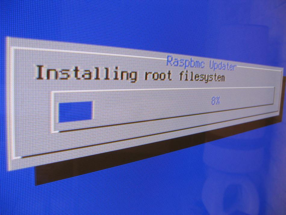 Raspbmc install