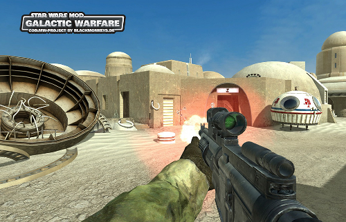 COD4 : Galactic Warfare