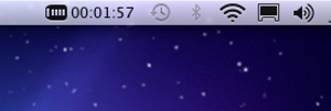 Mac OSX 10.6 zone de notification