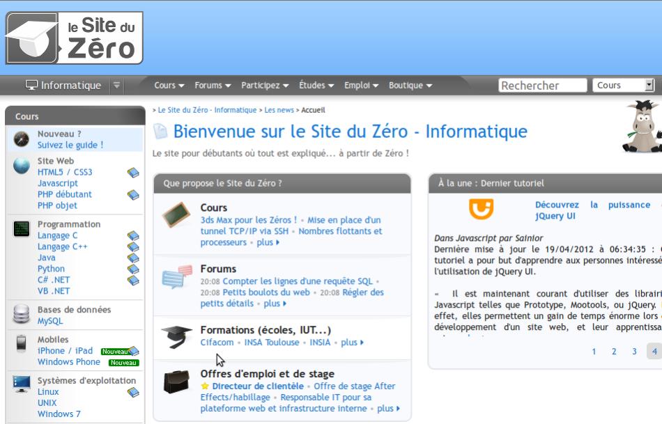 Site du Zéro